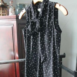 Loft Cat print dress Size XS